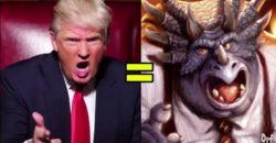"""Trump ist B.P. Richfield aus der Serie """"Die Dinos"""""""