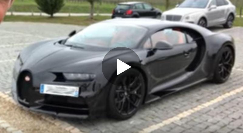 Bugatti Chiron mit 420 km/h Sicherheitsschlüssel